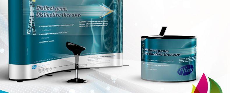 تصميم وطباعة وتركيب البوب أب للمعارض والمؤتمرات